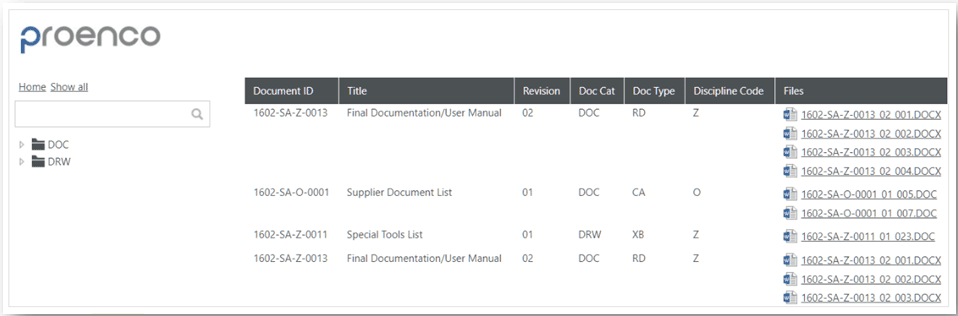 Proarc Document Organizer